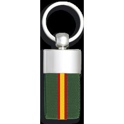 Llavero Metalico bandera de España Verde