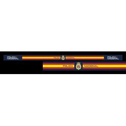 Pulsera Tela Policia Nacional
