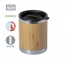 VASO Bambu y Acero LUBON