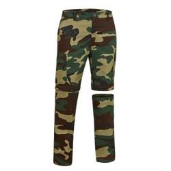 pantalón desmontable WOODMAN camuflaje