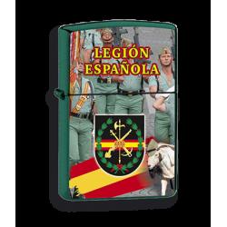Mechero Verde Legion imitacion zippo