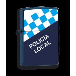 Mechero Azul Policia Local imitacion zippo