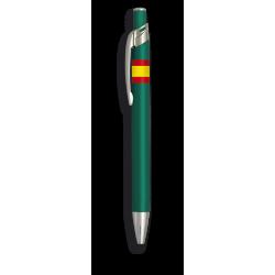 Boligrafo aluminio colores Bandera España