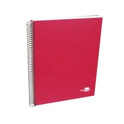 Cuaderno espiral liderpapel a4 micro papercoat tapa...