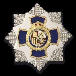 Medalla Dedicación Policial 35 años