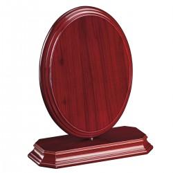 Metopa Giro Ovalo Color Caoba Mini con estuche