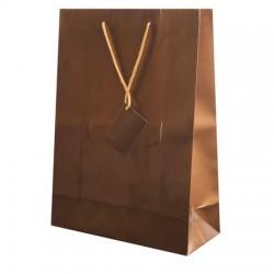 Bolsa regalo Papel con etiqueta 36x26