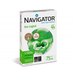 Papel fotocopiadora navigator eco logical din a4 75...