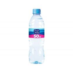 Agua mineral natural font vella sant hilari 500 ml