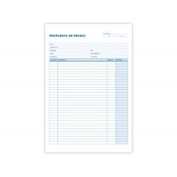 Talonario liderpapel pedidos folio original y copia t225.