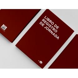 Libro liderpapel registro de jornada empleados 2021 din...
