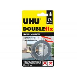 Cinta adhesiva uhu doublefix invisible doble cara extra...