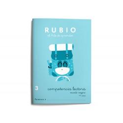 Cuaderno rubio competencia lectora 3 mundo viajero