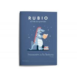 Cuaderno rubio iniciacion a la lectura + 5 años