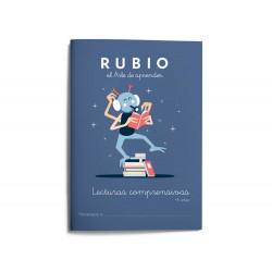 Cuaderno rubio lecturas comprensivas + 6 años