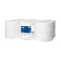 Papel higienico tork minijumbo 1 capa 290 mt para...