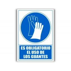 Pictograma archivo 2000 obligatorio uso de guantes pvc...