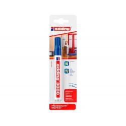 Rotulador edding marcador permanente 3000 azul n.3 punta...