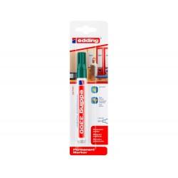 Rotulador edding marcador permanente 3000 n.4 verde punta...