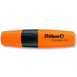 Rotulador pelikan fluorescente textmarker 490 naranja