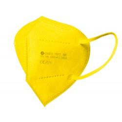1 caja de 10 Mascarillas facial ffp2 amarill a...