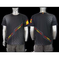 Camiseta Sublimación Barbaric Negra España
