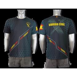 Camiseta Sublimación Barbaric Guardia Civil España