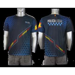 Camiseta Sublimación Barbaric Policia Local España