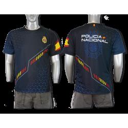 Camiseta Sublimación Barbaric Policia Nacional España