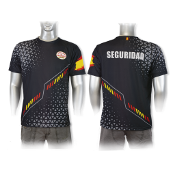 Camiseta Sublimación Barbaric Vigilante de Seguridad España