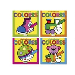 Cuaderno para colorear mi primer libro de colores
