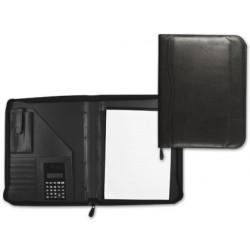 Carpeta portafolios 80-848 negra 260x355 mm cremallera...