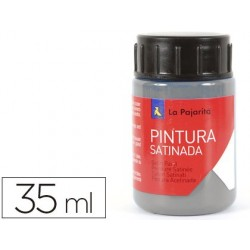 Pintura latex la pajarita gris 35 ml