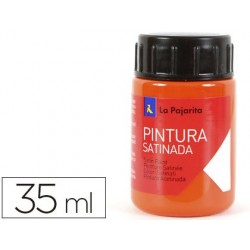 Pintura latex la pajarita naranja 35 ml