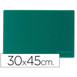Plancha para corte q-connect -tamaño 300x450 mm a3 -verde