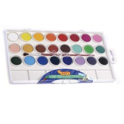Acuarela jovi 24 colores estuche de plastico
