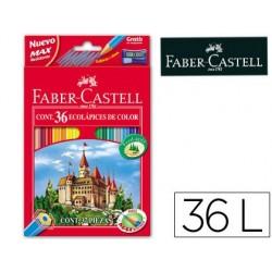 Lapices de colores faber-castell c/ 36 colores hexagonal...