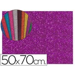 Goma eva con purpurina liderpapel 50x70cm 60g/ m2 espesor...