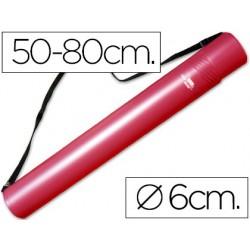 Portaplanos plastico liderpapel diametro 6 cm extensible...
