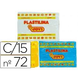 Plastilina jovi 72 surtida -tamaño grande -caja de 15...