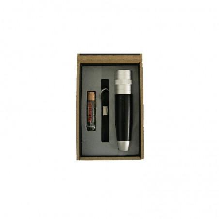 Linterna en caja de madera