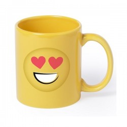 taza emoticonos ASHLEY